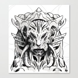 OVERLORD Canvas Print
