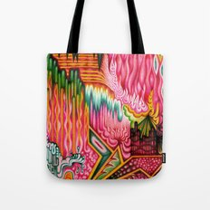 Sunk into a Candy Cave Tote Bag