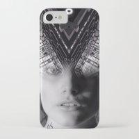 metropolis iPhone & iPod Cases featuring Metropolis by Cash Mattock