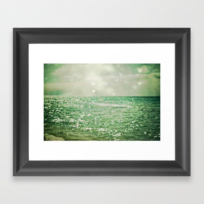 Sea of Happiness Framed Art Print