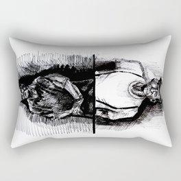 the old geezers  Rectangular Pillow