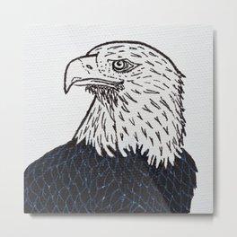 Free (Bald Eagle) Metal Print