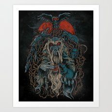 Nicodemus & The Rats of the Rosebush  Art Print