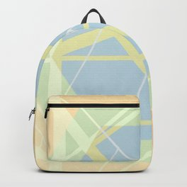 Crossroads ll - color hexagon Backpack