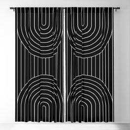 Arch Symmetry VII Blackout Curtain