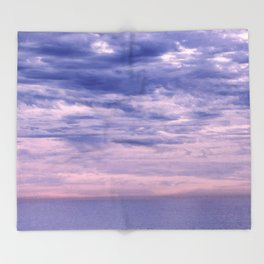 Sunset Socal Throw Blanket