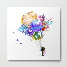 Hold on to Your Dreams Metal Print