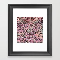 cat-249 Framed Art Print