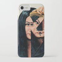 collage iPhone & iPod Cases featuring Normalization by Eugenia Loli