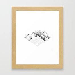Doood 4 Framed Art Print