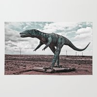 dino Area & Throw Rugs featuring Dino by Nick Douillard