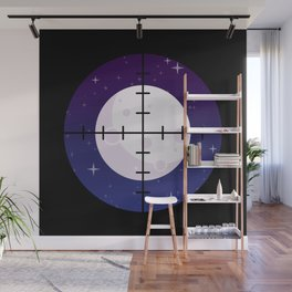 Aim for the Moon Wall Mural