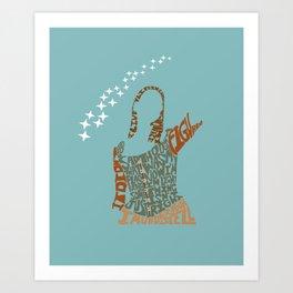 tara maclay under your spell buffy Art Print