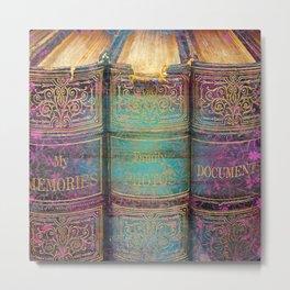 392 9 Fairytale Books Metal Print