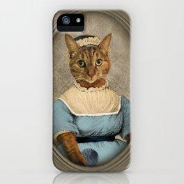 """Jane """"Paw""""sten iPhone Case"""
