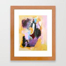 She Is Enough Framed Art Print