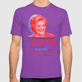 I've watched a lot of CATS! T-shirt