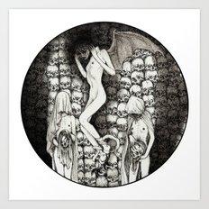 Sursum Umbra Art Print