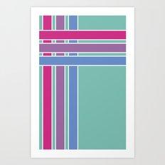 Step in Line Art Print