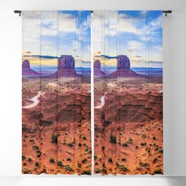 Monument Valley, Utah No. 2 Blackout Curtain