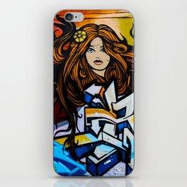 Graffiti Queen  iPhone Skin