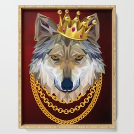 The King of Wolves Serving Tray