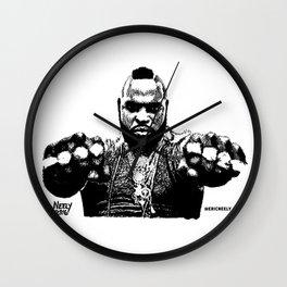 Pity the Fool. Mr. T. Wall Clock
