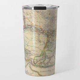 Map of Persia circa 1847 (Afghanistan, Pakistan, Iran) Travel Mug