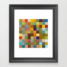 Soft Palette Rustic Wood Series lll Framed Art Print
