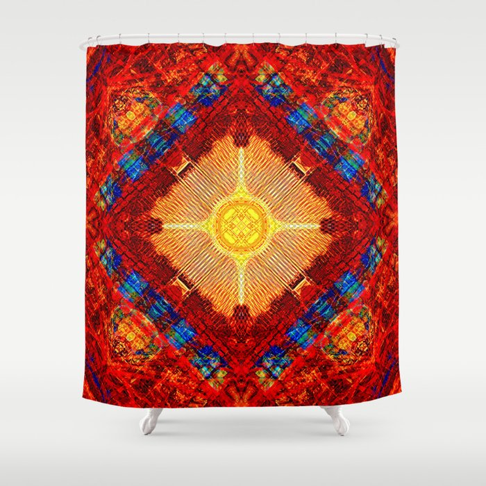 Motherboard Madness Shower Curtain