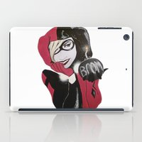 harley iPad Cases featuring Harley by John Pocopanni
