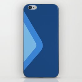 Epcot Blueberry Wall iPhone Skin