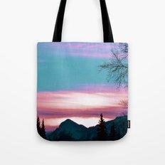 Alaskan Pastel Vibes Tote Bag