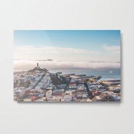 San Francisco Bay Panorama Metal Print