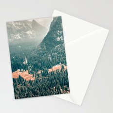 Yosemite Valley - Fall Colors Stationery Cards