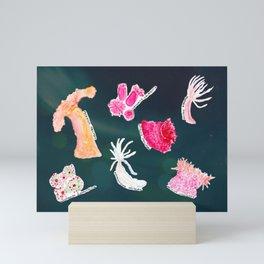 WHITNEY - ocean space Mini Art Print