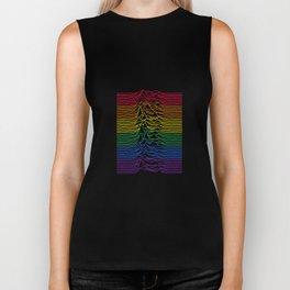 Joy Division - Unknown Rainbow Pleasures Biker Tank
