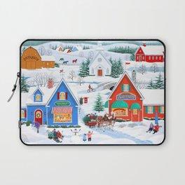 Wintertime in Sugarcreek Laptop Sleeve