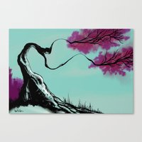 blossom Canvas Prints featuring Blossom  by Art is Vast