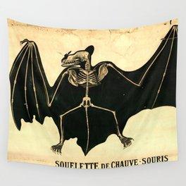 Squelette de chauve-souris Wall Tapestry