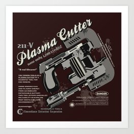 Dead Space - Plasma Cutter Art Print