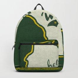 Hello Wisconsin Backpack