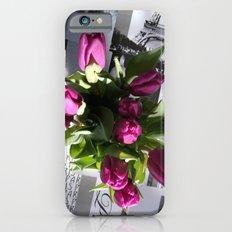 Purple Tulips Slim Case iPhone 6s