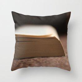 Books #2 Throw Pillow