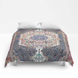 Bakhtiari Central Persian Rug Print Comforters