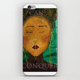 Wounded Queens Conquer iPhone Skin