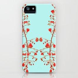 2941-Illawarra-Flame-Tree#1-Aqua iPhone Case