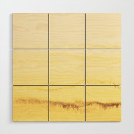 WITHIN THE TIDES - SUNNY YELLOW Wood Wall Art