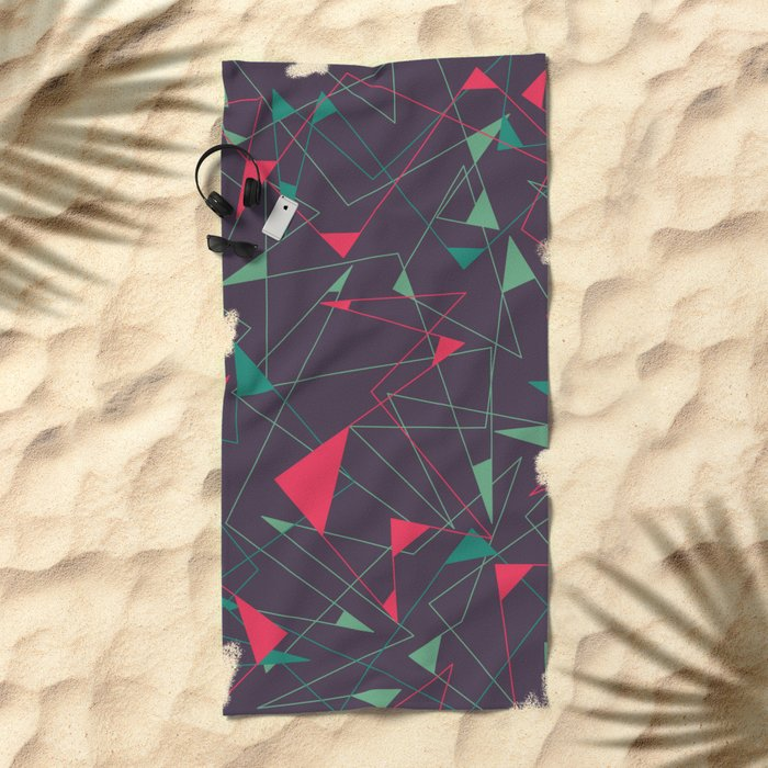 Riot Beach Towel