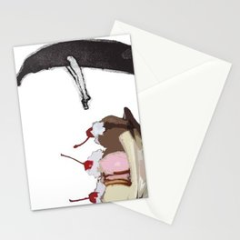 The Fruit that ate itself  Stationery Cards